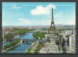 FRANCE Paris Eiffel Tower Special Cachet Sent To Estonie - Tour Eiffel