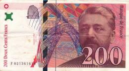 G502 - Billet De 200 Francs EIFFEL 1996 - 1992-2000 Ultima Gama