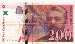 G502 - Billet De 200 Francs EIFFEL 1996 - 200 F 1995-1999 ''Eiffel''
