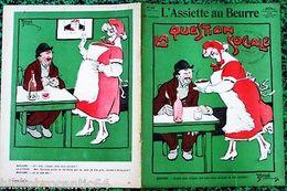 """Revue*L'ASSIETTE AU BEURRE* N°319 Du 11/5/1907 """"LA QUESTION SOCIALE"""" P/E.BERNARD - Autres Collections"""