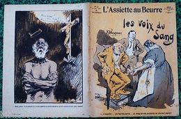 """Revue*L'ASSIETTE AU BEURRE* N°378 Du 27/6/1908 """" LA VOIX DU SANG """" P/ R. WAGNER - Autres Collections"""