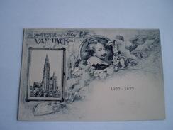 Anvers - Antwerpen // Litho - Souvenir Des Fetes Van Dyck 1599 - 1899 // Ca 1900 Zeldzaam - Antwerpen