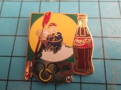 Pin2417 Pin's Pins / COCA-COLA CANOE-KAYAK JEUX OLYMPIQUES Superbe Et Grand Pin's Par ARTISS REGINA - Coca-Cola