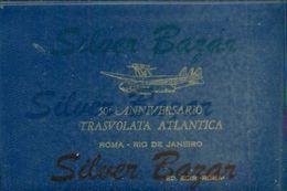 Folder Con 10 Cartoline,10 Buste,1intero Postale,1 Foglietto Erinnofilo E 1 Francobollo.Annulli Speciali Con Vari Timbri - 1946-....: Era Moderna