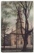 English Cathedral Quebec City Canada QC PQ C1910s Vintage Postcard M8806 - Québec - La Citadelle