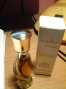 Miniature Parfum Voulez Vous,perfume D Orsay,encienne - Miniature Bottles (in Box)