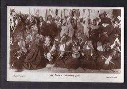 CPSM MAROC - Musiciens Juifs - SUPERBE PLAN GROUPE Dont VIOLON - JUDAÏCA RELIGION - Maroc