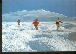 K2. Advertising Sweden Vinterhalsningar Friakning Pa Fjallet Free Skating On The Mountain Winter Sports Posted Postcard - Winter Sports