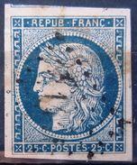FRANCE              N° 4                  OBLITERE - 1849-1850 Ceres