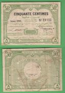 Tunisia 50 Centimes 1920TUNIS Règence Tunisie - Tunisia