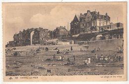 80 - ONIVAL SUR MER - La Plage Et Les Villas - CAP 207 - Onival