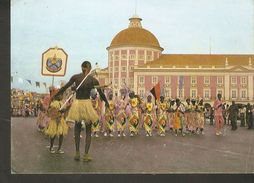 K2. Africa R.P. Angola Luanda Carnaval Da Victoria De 1981 Unposted Postcard Traditional National Costumes - Angola
