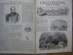 L'ILLUSTRATION N° 131 TROMBE MALAUNAY MONVILLE/ TOULON/ LOUIS XVII/ FOURCHAMBAULT 30 Aout 1845 - Newspapers