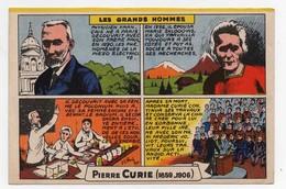 Buvard Les Grands Hommes Pierre Curie (1859-1906) - Buvards, Protège-cahiers Illustrés