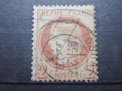 """VEND TIMBRE DE FRANCE N° 51 , OBLITERATION """" DOUAI """" !!! - 1871-1875 Cérès"""