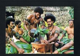 FIJI- ILES FIDJI-MATANITU KO VITI -Kawa Ceremony   -cpsm- Paypal Sans Frais - Fidji