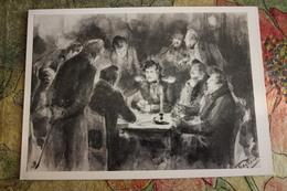 """Mascarad"" By Pasternak . CARD PLAYERS - Carte à Jouer - Cartes - Playing Cards. OLD PC 1959 - Cartes à Jouer"