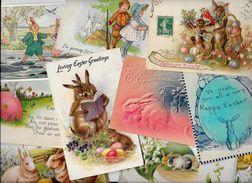 Lot 1000 De 10 CPA Lapin Bunny Rabbit Déstockage Pour Revendeurs Ou Collectionneurs - Cartes Postales