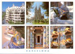 Espagne - Catalogne - Barcelona - Multivues - El Modernisme - Triangle Postals Nº 276.3 - Neuve - 2487 - Barcelona