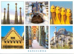 Espagne - Catalogne - Barcelona - Multivues - El Modernisme - Triangle Postals Nº 331.3 - Neuve - 2489 - Barcelona