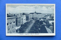 Cartolina Taranto - Ingresso E Viale R. Arsenale - 1920 Ca. - Taranto