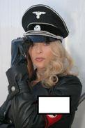 Reproduction D'une Photographie D'un Portrait De Sybil Danning En Uniforme De Sous Officier Allemand - Repro's