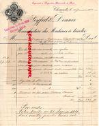 ALLEMAGNE-CHEMNIT- SAXE- RARE LETTRE MANUSCRITE SEYFERT & DONNER- EXPOSITION UNIVERSELLE PARIS 1900- MACHINES A TRICOTER - Petits Métiers