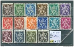674-689  -XX - Unused Stamps
