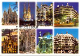 Espagne - Catalogne - Barcelona - Multivues - Ediciones A. Campaña - Nº B0124 - Neuve - 2494 - Barcelona