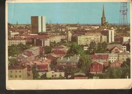 K2. Estonia USSR Soviet Unposted Postcard Eesti NSV Tallinn Vaade Linnale Estonian SSR View Of Tallinn - Estonia