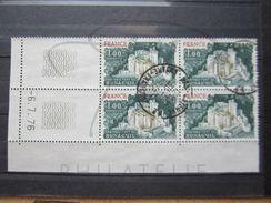 """VEND BEAUX TIMBRES DE FRANCE N° 1871 , EN BLOC DE 4 COIN DATE """" 6.7.76 """" , OBLITERATION """" CAYENNE R.P """" !!! - Coins Datés"""