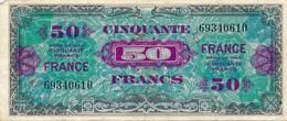 G502 - Billet De 50 Francs Trésor - Série 1944 - 1944 Drapeau/France