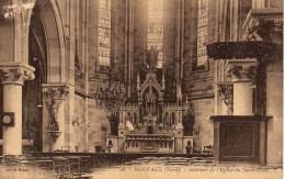 59 MOUVAUX  Intérieur De L'Eglise Du Sacré-Coeur - France