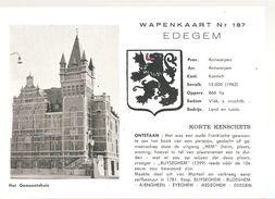 Edegem Wapenkaart (e816) - Edegem