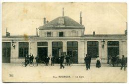 18 BOURGES ++ La Gare ++ - Bourges