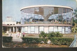 K2. Lithuania USSR Soviet Unposted Postcard Lietuvos TSR Palanga Resort VASARA Restaurant 1971 - Lithuania