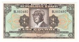 Haiti 1 Gourde 1979/1984 UNC  .C. - Haiti