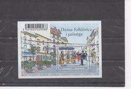 ANDORRE - Danse Folklorique : Danse Marratxa, Place à San Julià De Loria - Patrimoine - - Unused Stamps