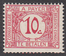 BELGIAN CONGO      SCOTT NO. J2   MINT HINGED    YEAR  1923 - 1923-44: Nuovi