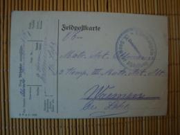 Marine - Feldpostkarte, Stempel I. Kompagnie IX. Seewehr Abteilung, 18.2.15 - Brieven En Documenten