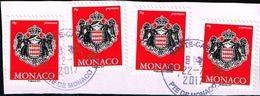 Monaco 2014, Michel# 3204 O Coat Of Arms - Monaco