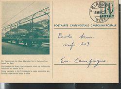 Carte De Service  Chemins De Fer SBB-CFF. N° Zumstein 2009 N° 54c. - 030  Obl: Fribourg - Gare 16/08/1962 - Enteros Postales