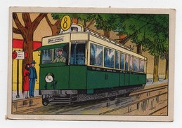 Chromo Sobéal Béthune Moyens De Transport Tramway électrique - Trade Cards