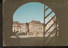 K2. Estonia USSR Soviet Unposted Postcard Tallinn Town Hall Square - Estonie