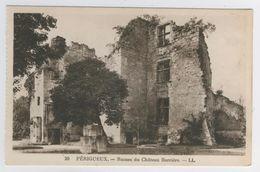 24 - Périgueux       Ruines Du Château Barrière - Périgueux