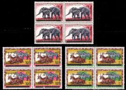 Burundi 0015-19-22** X4  Animaux - Burundi