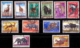 Congo 0350/61 (o) Animaux - Congo Belge