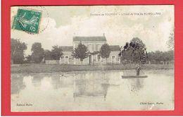 PUYROLLAND 1909 L HOTEL DE VILLE ENVIRONS DE TOURNAY - Francia