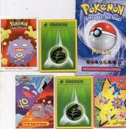 POKEMON -  Lot  D'images Et Cartes + Livret  Règles Pokémon , Attrapez Les Tous ..  Voir Les  Scans Recto - Verso - Autres