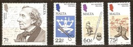 Malta Malte 2005  Yvertn° 1342-1345 *** MNH Cote 11,00 Euro Hans Christian Andersen - Malte
